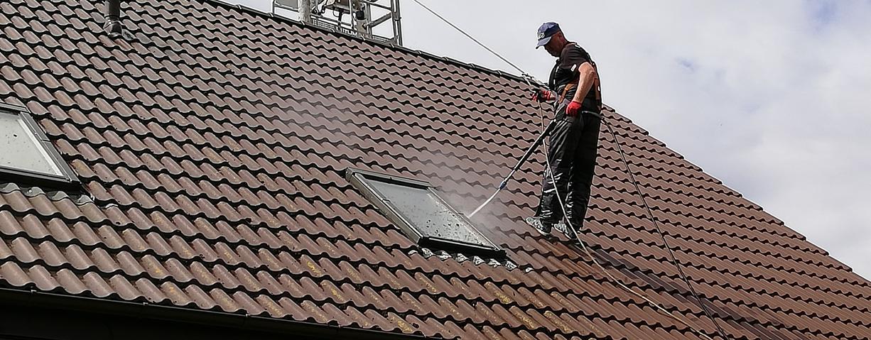 Usługi czyszczenia dachów
